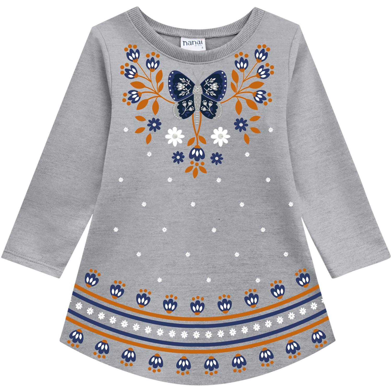Vestido Infantil Nanai Moletinho