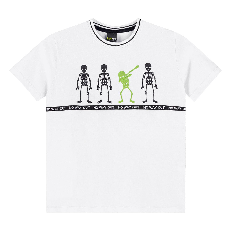 Camiseta Infantil Masculina Lemon Kids Meia Malha