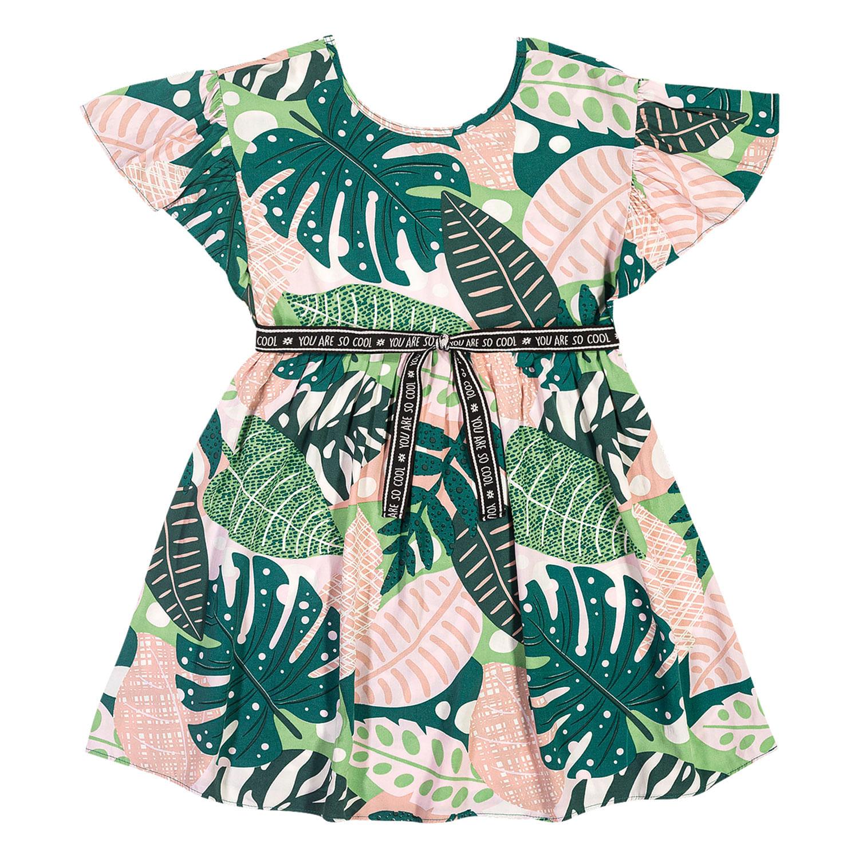 Vestido Infantil Nanai Viscose